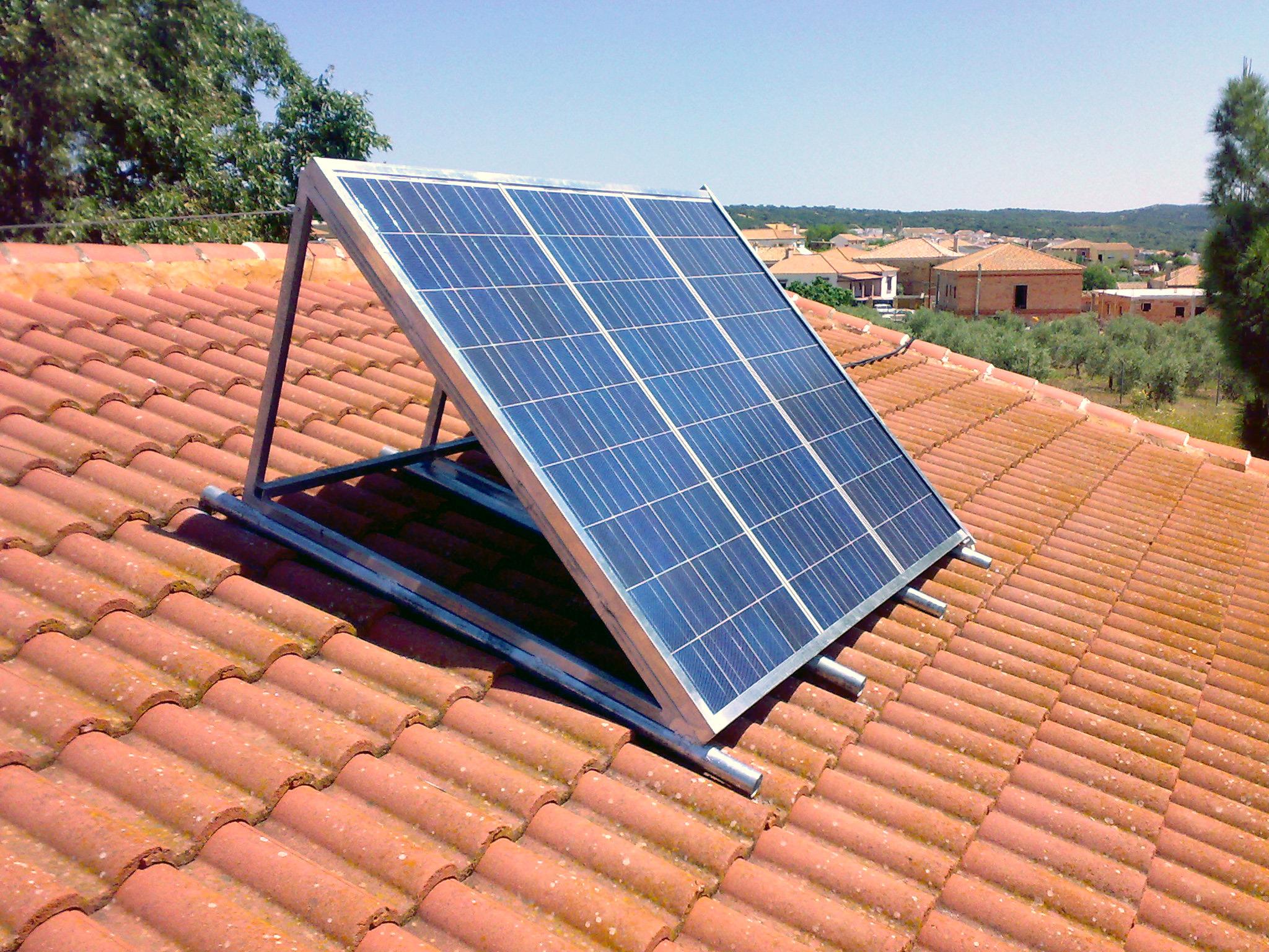 placa solar fotovoltaica solartel cija energ a solar