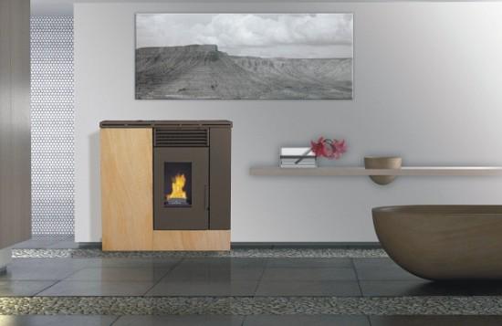 Calderas y estufas de biomasa solartel cija energ a - Precios de estufas de pellet ...